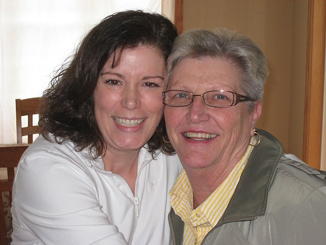 Eileen and Daughter-In-Law Ranae